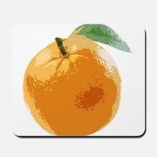 Orange Fruit Navel Valencia Naranja Mousepad