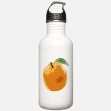 Orange Fruit Navel Valencia Naranja Water Bottle