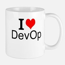 I Love DevOps Mugs