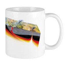 Tectonic plate boundaries - Mug