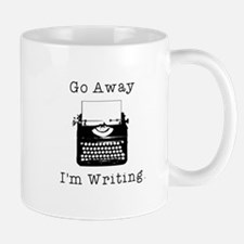 Go Away - I'm Writing Mug