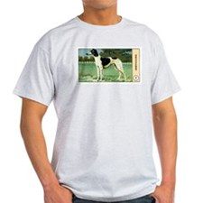 Antique 1908 Greyhound Dog Cigarette Card T-Shirt