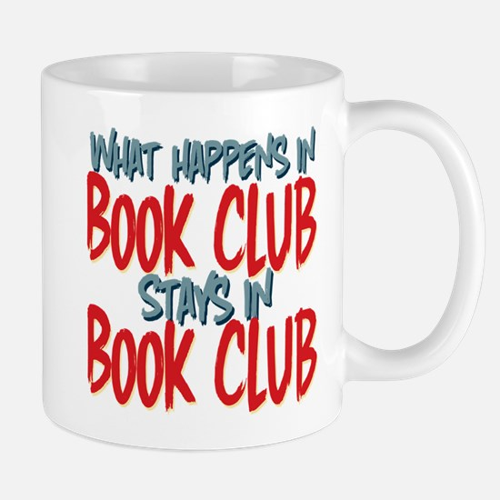 What Happens In Book Club Mugs