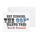 GOP=Gang of Pedophiles Greeting Cards (Package of