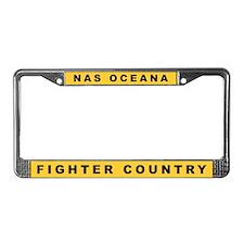 Oceana License Plate Frame