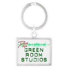 Green Room Studios Landscape Keychain