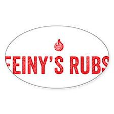 feinys rub red Decal