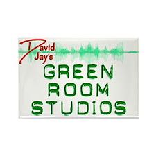 Green Room Studios Rectangle Magnet