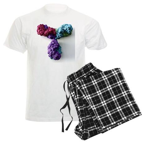 Antibody, molecular model - Men's Light Pajamas