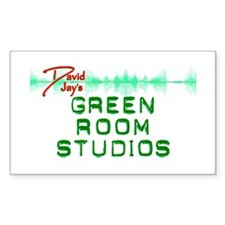 Green Room Studios Decal