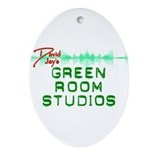 Green Room Studios Ornament (Oval)