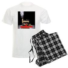 Model steam engine - Pajamas