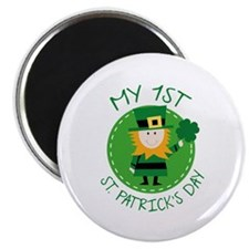 My 1st St. Patrick's Day Magnet