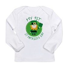 My 1st St. Patrick's Day Long Sleeve Infant T-Shir