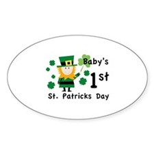 Baby's 1st St. Patrick's Day Decal