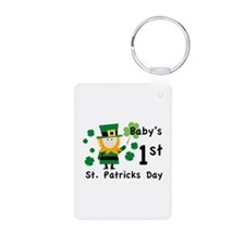 Baby's 1st St. Patrick's Day Keychains