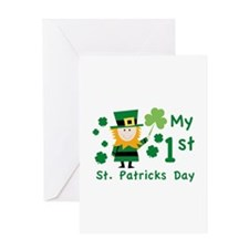 My 1st St. Patrick's Day Greeting Card