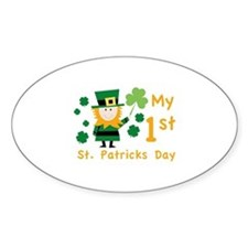 My 1st St. Patrick's Day Decal