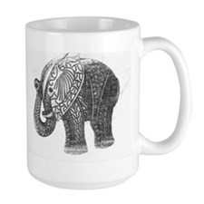 Jeweled Wedding Elephant Mug