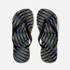 Artwork Designed pabear48 Flip Flops