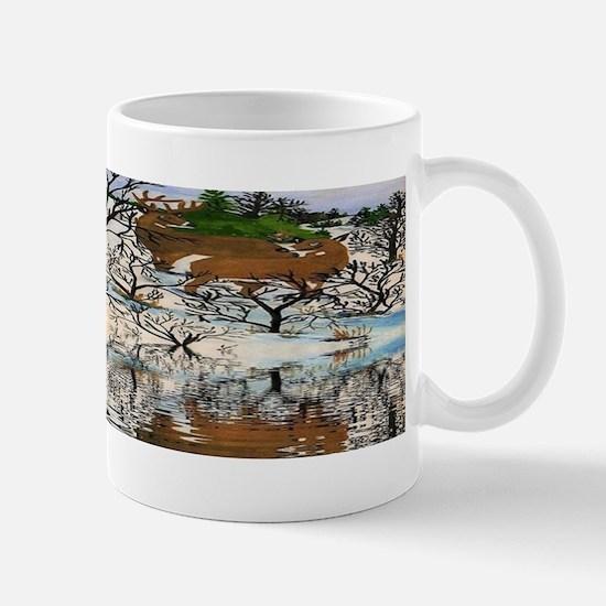 Farm Deer Reflection SPECIAL Mug