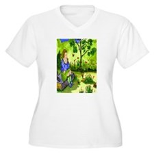 Girl Thinking T-Shirt