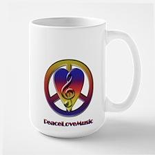 Peacelovemusic Large Mug