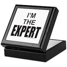 I'M THE EXPERT Keepsake Box