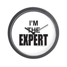 I'M THE EXPERT Wall Clock
