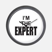 I'M THE EXPERT Wall Clock