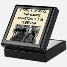 tap dancing Keepsake Box