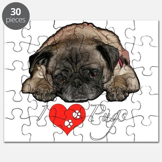 I love pugs Puzzle