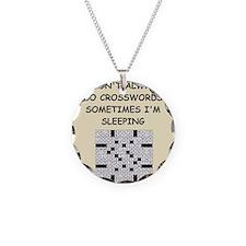 crosswords Necklace