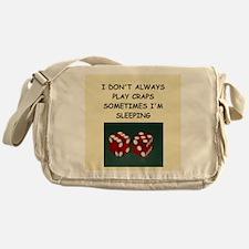 craps Messenger Bag