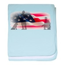 3 Soldiers baby blanket