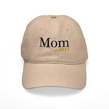 New Mom Est 2013 Baseball Cap