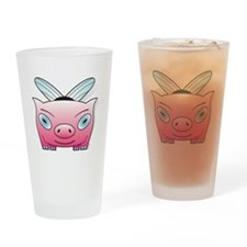 bumble pig Drinking Glass