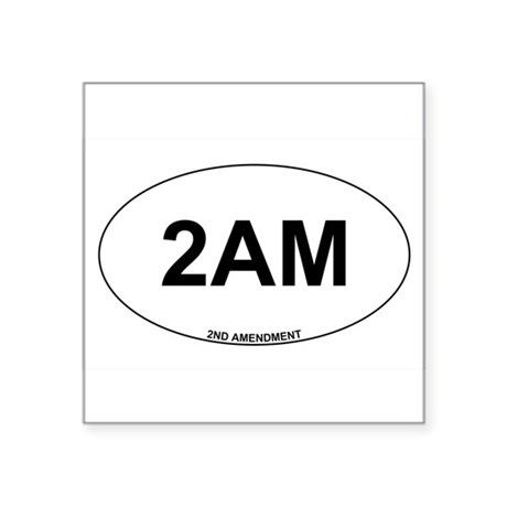2nd Amendment Sticker