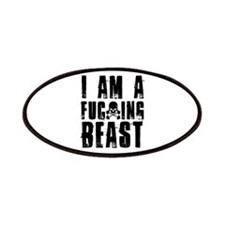I am a F**king Beast Patches