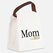 Mom Est 2013 Canvas Lunch Bag