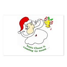 Happy Santa Postcards (Package of 8)