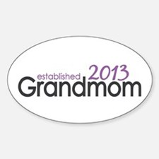New Grandma Est 2013 Decal