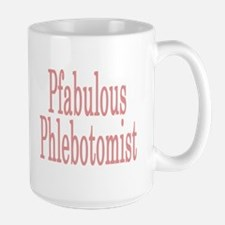 Pfabulous Phlebotomist Large Mug