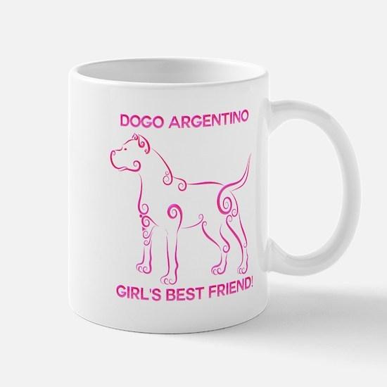 Girl's best friend-dogo argentino Mug