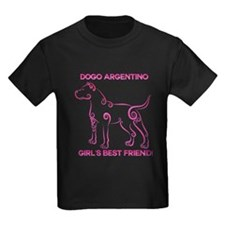 Girl's best friend-dogo argentino T-Shirt