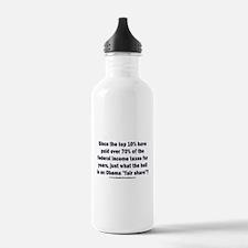 Obama fair share Water Bottle