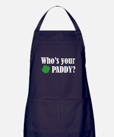 Who's Your Paddy? Apron (dark)