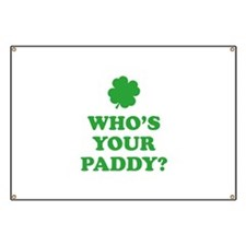 Who's Your Paddy? Banner