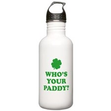 Who's Your Paddy? Water Bottle