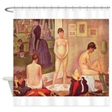 Seurat Shower Curtain